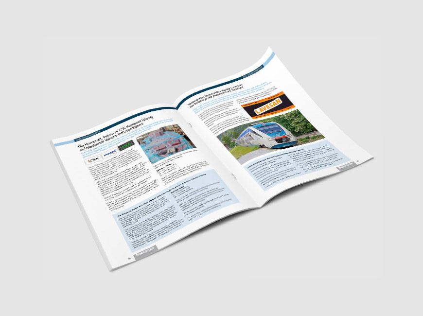 Composites Turkey Dergi Tasarımı Sayı: 13