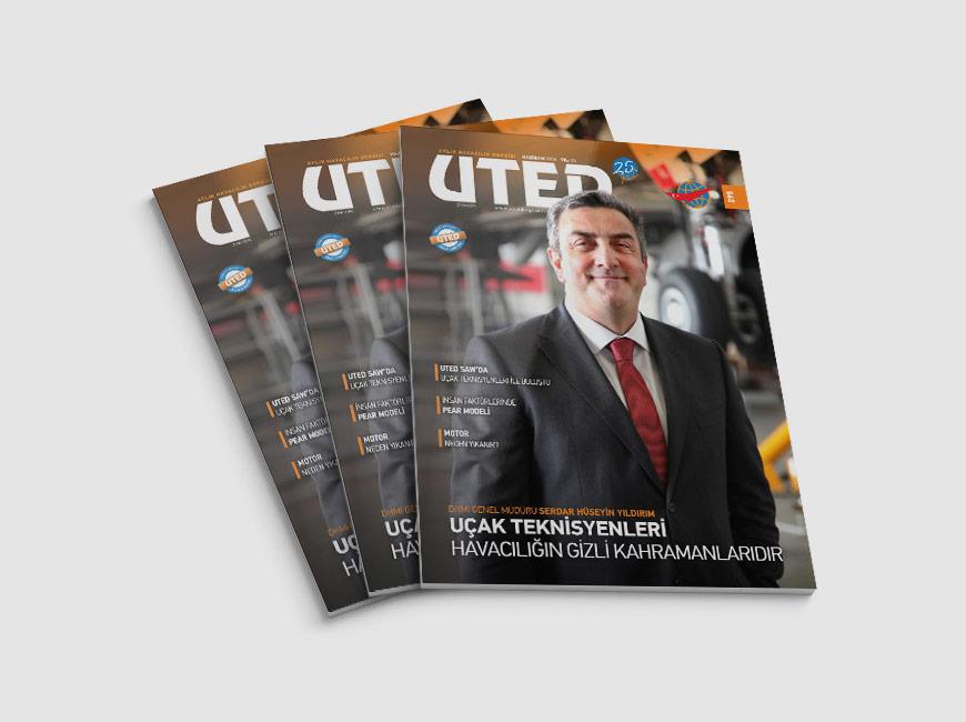 UTED Dergi Tasarımı Sayı: 295