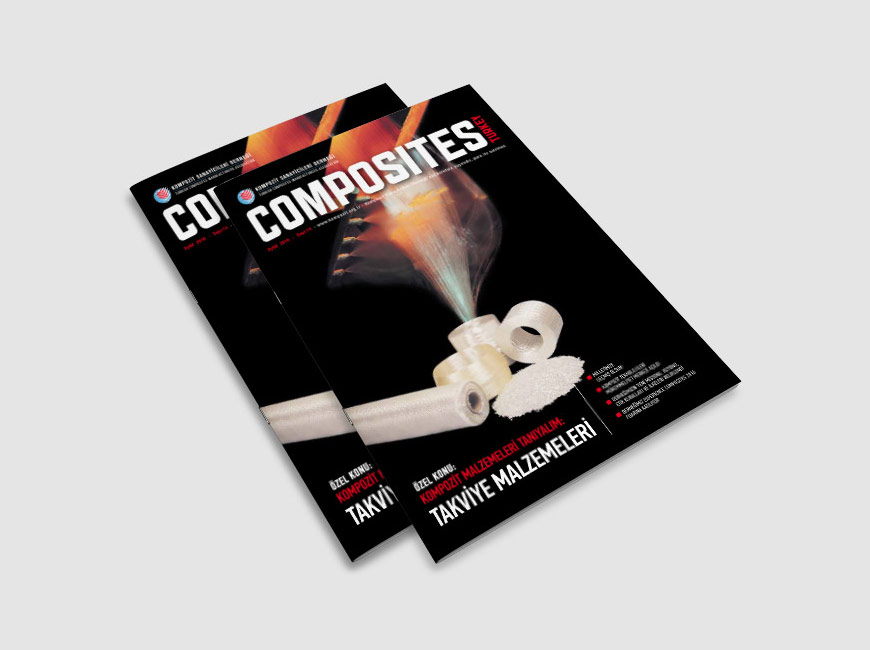 Composites Turkey Dergi Tasarımı Sayı: 14