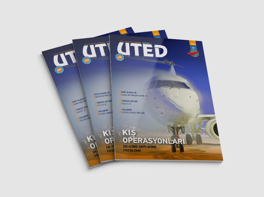 UTED Dergi Tasarımı Sayı: 341