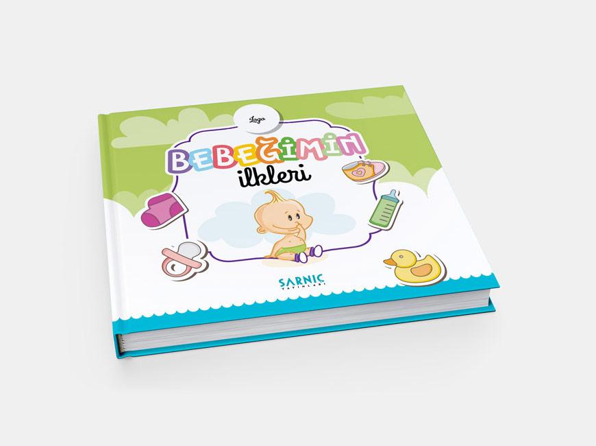Bebeğimin İlkleri Kitap Tasarımı