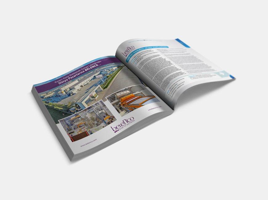 Kompozit Sanayicileri Derneği Katalog Tasarımı