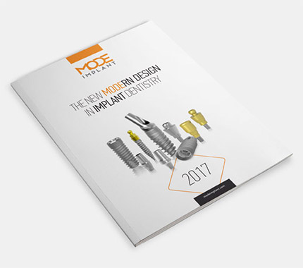 Mode İmplant Katalog Tasarımı