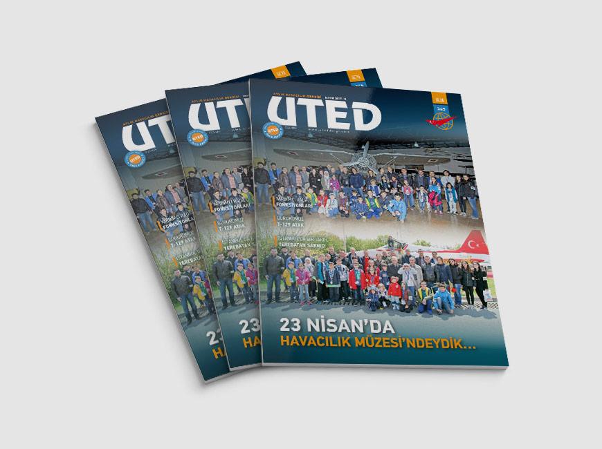 UTED Dergi Tasarımı Sayı: 345