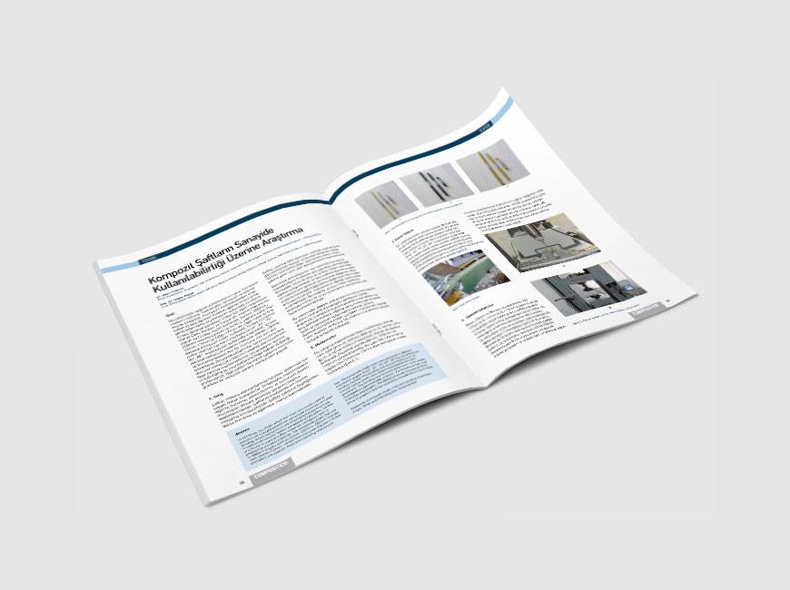 Composites Turkey Dergi Tasarımı Sayı: 16