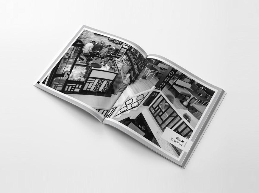 Katalog Tasarımı - Bilgece Mimarlık