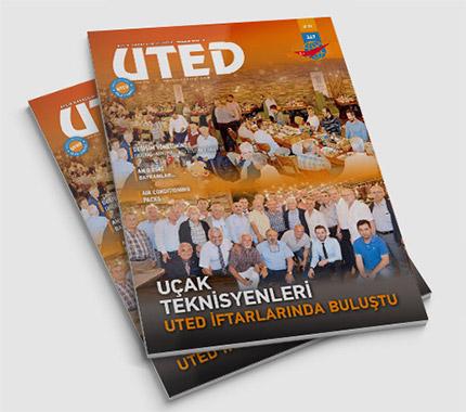 UTED Dergi Tasarımı Sayı: 347