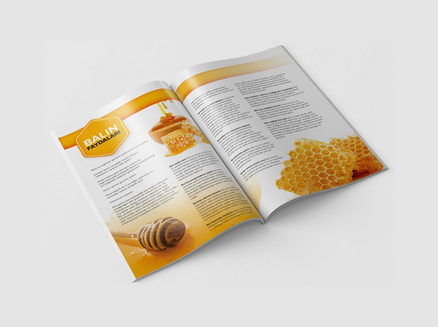 Ballı Baklava - Katalog Tasarımı