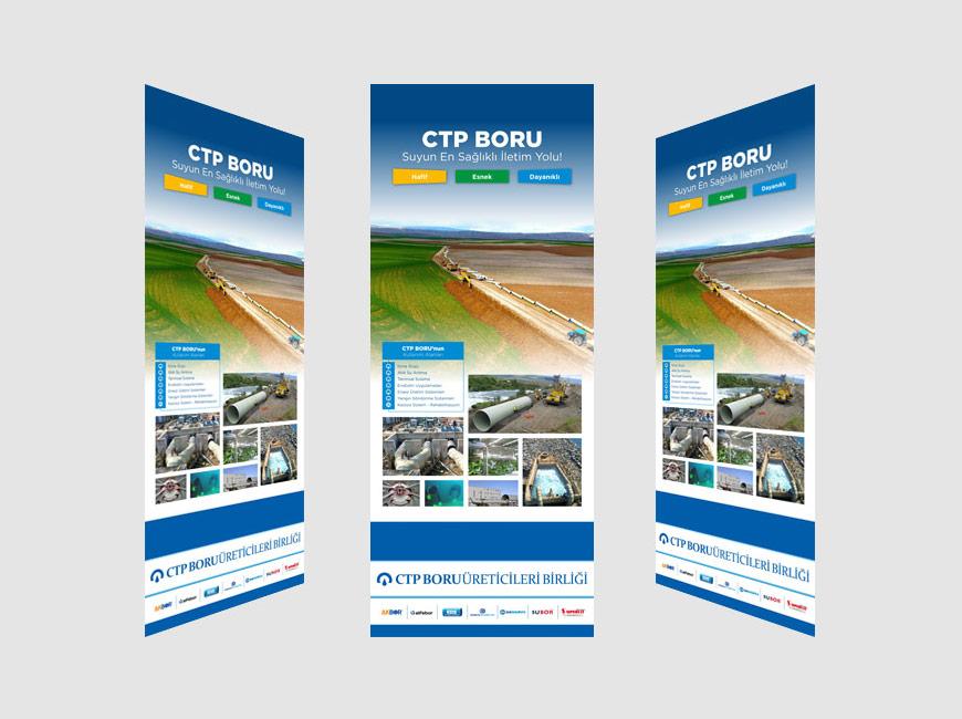 CTP Boru Stant Tasarımı