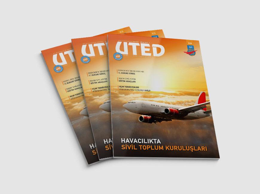 UTED Dergi Tasarımı Sayı: 349