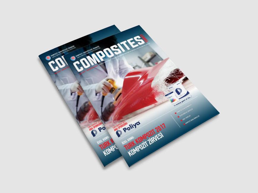 Composites Turkey Dergi Tasarımı Sayı: 17