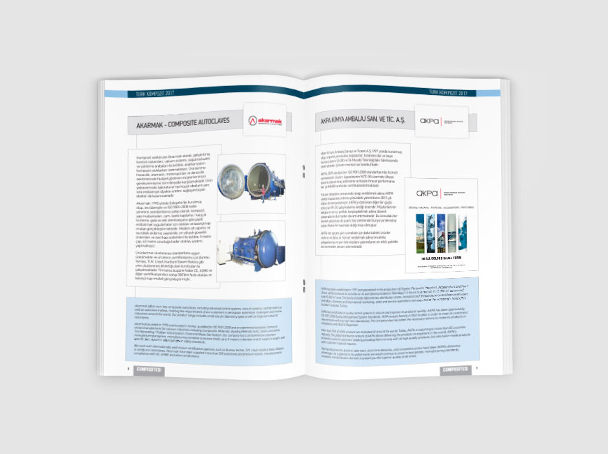 Kurumsal Dergi Tasarımı - Composites Turkey