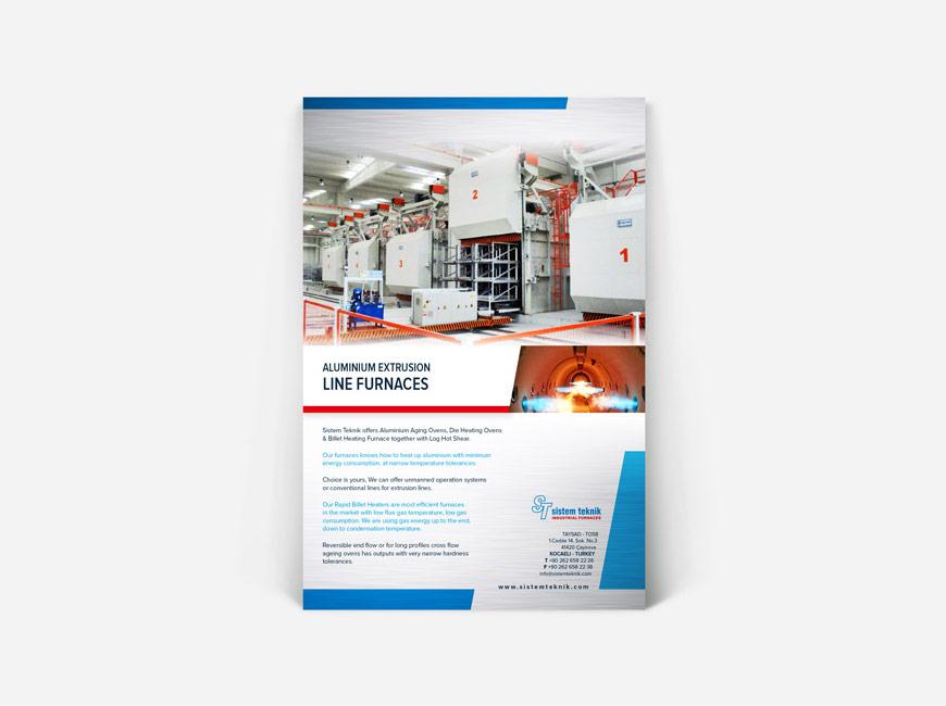 Sistem Teknik Flyer Tasarımı title=