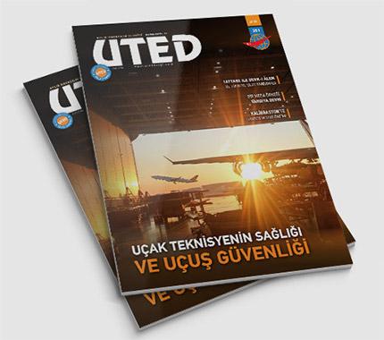 UTED Dergi Tasarımı Sayı: 351