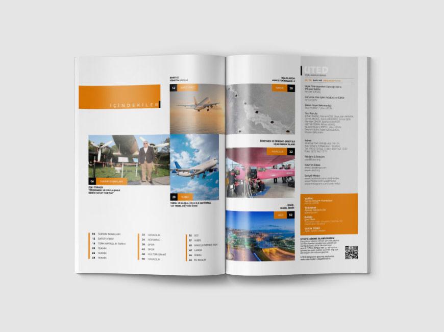 UTED Dergi Tasarımı Sayı: 352