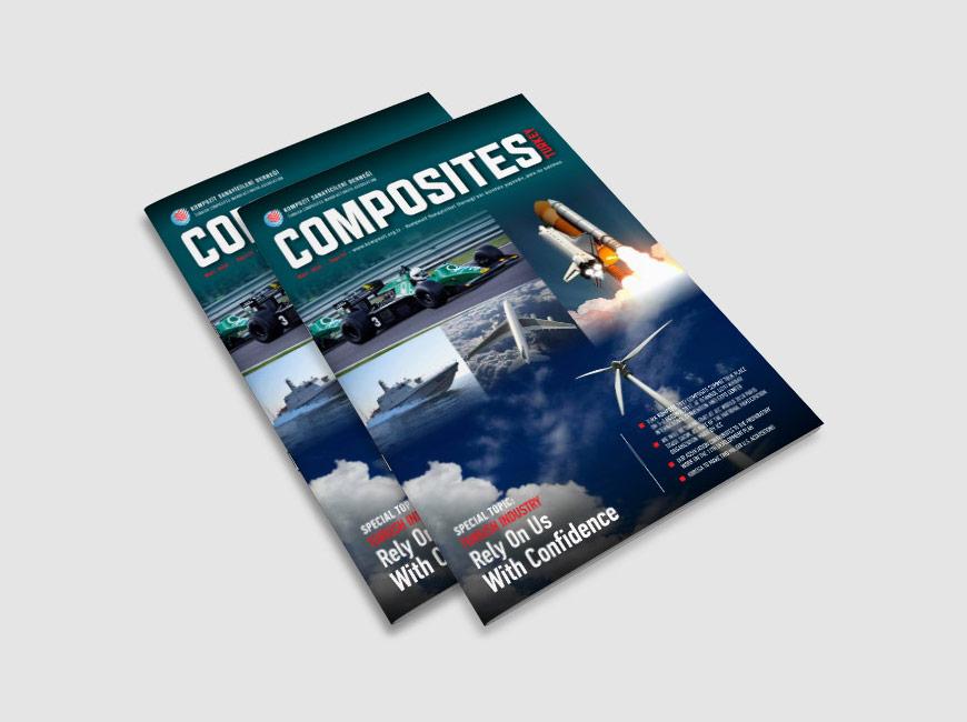Composites Turkey Dergi Tasarımı Sayı: 18