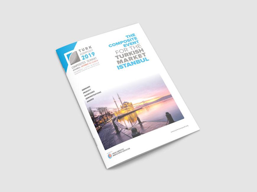 Kompozit Sanayicileri Derneği Broşür Tasarımı