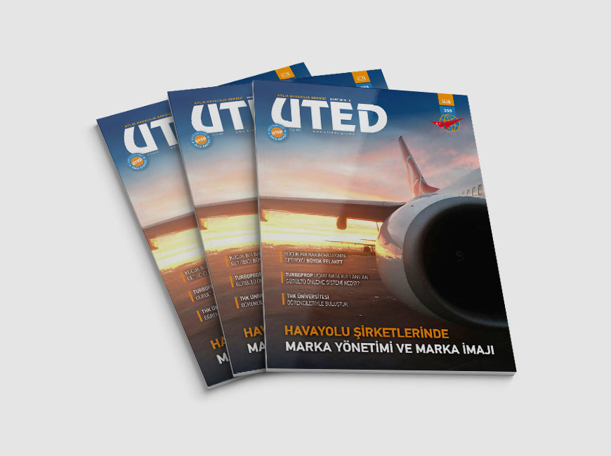 UTED Dergi Tasarımı Sayı: 355