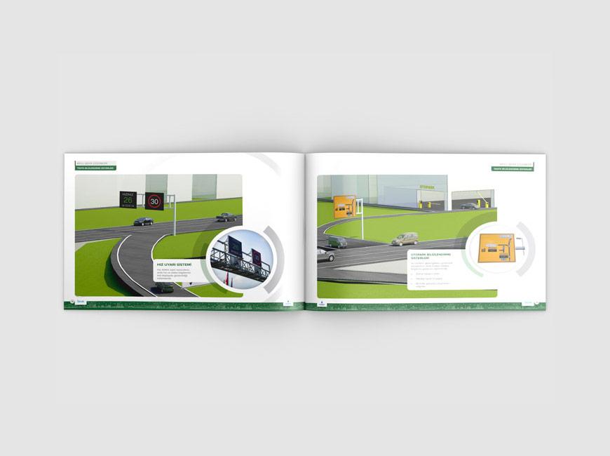 İSBAK Akıllı Şehir Çözümleri Katalog Tasarımı