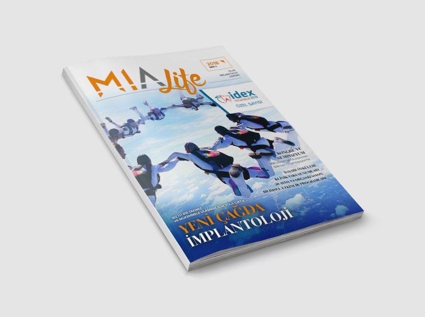 MIA Life Dergi Tasarımı Sayı: 1