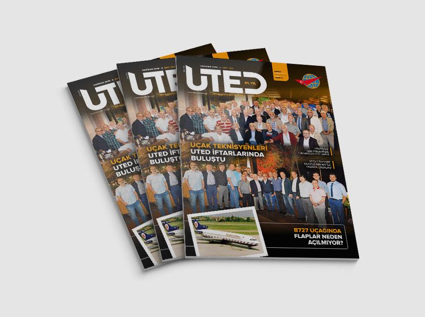UTED Dergi Tasarımı Sayı: 358