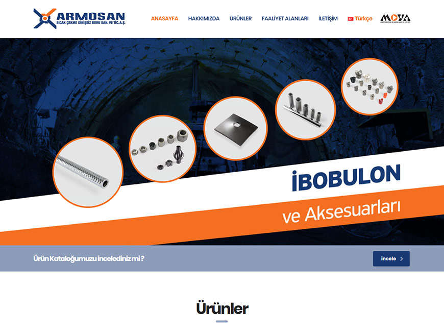 Armosan Web Site Tasarımı