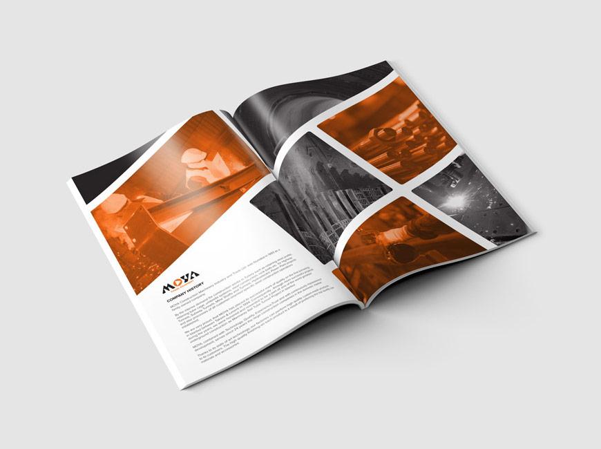 Moya Grup Katalog Tasarımı