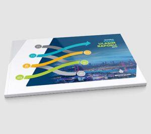 İstanbul Yıllık Ulaşım Raporu 2017 Katalog Tasarımı