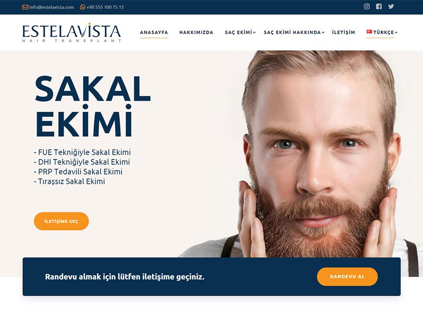 Estelavista Web Site Tasarımı
