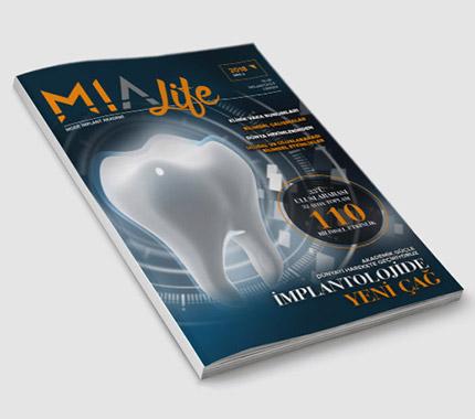 MIA Life Dergi Tasarımı Sayı: 2