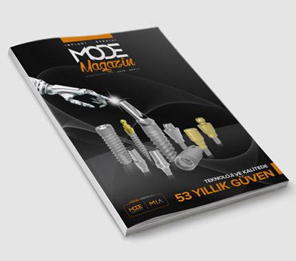 Mode Magazin Dergi Tasarımı Sayı: 1