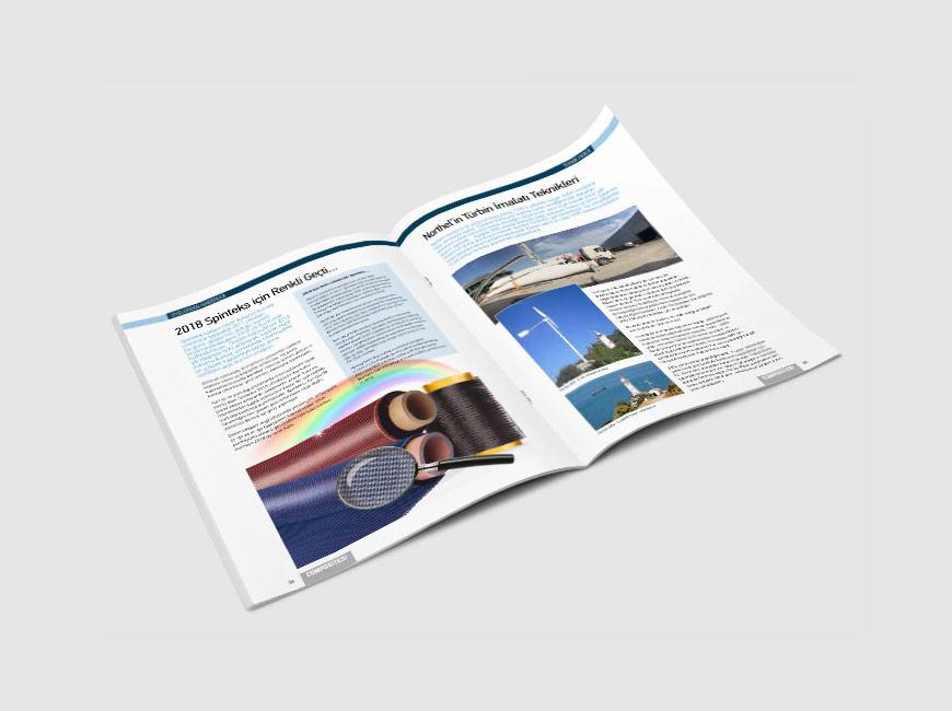 Composites Turkey Dergi Tasarımı Sayı: 20