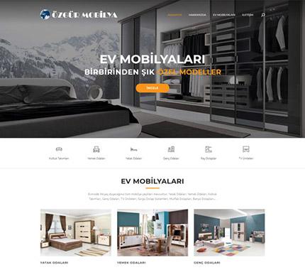 Özgür Mobilya Web Site Tasarımı