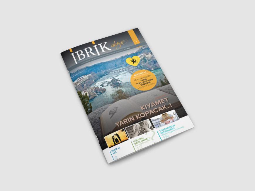 İbrik Dergi Tasarımı Sayı: 1