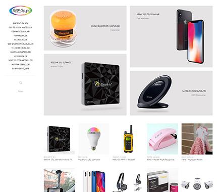 SBF Grup Web Site Tasarımı