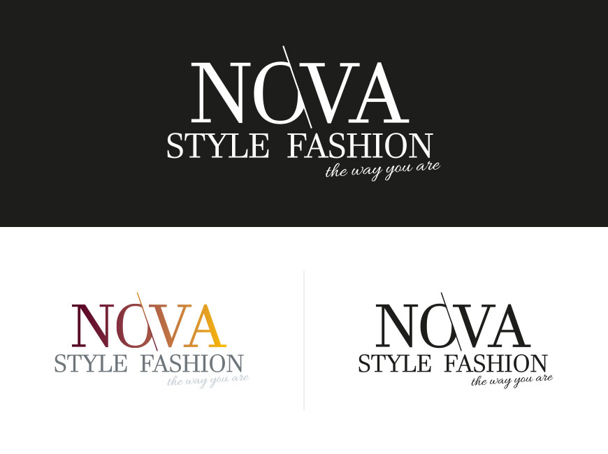 Nova Style Fashion Logo Tasarımı
