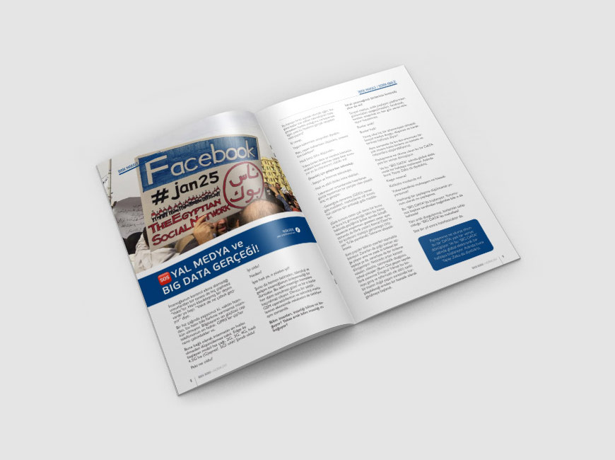 İBRİK Dergi Tasarımı Sayı: 3