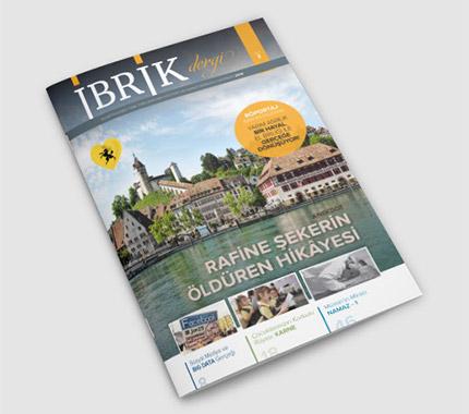 İbrik Dergi Tasarımı Sayı: 3