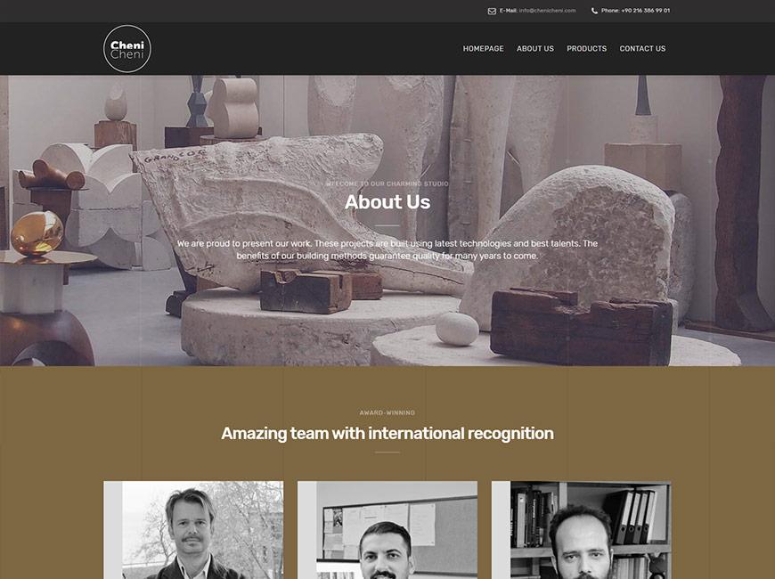 Cheni Cheni Web Site Tasarımı
