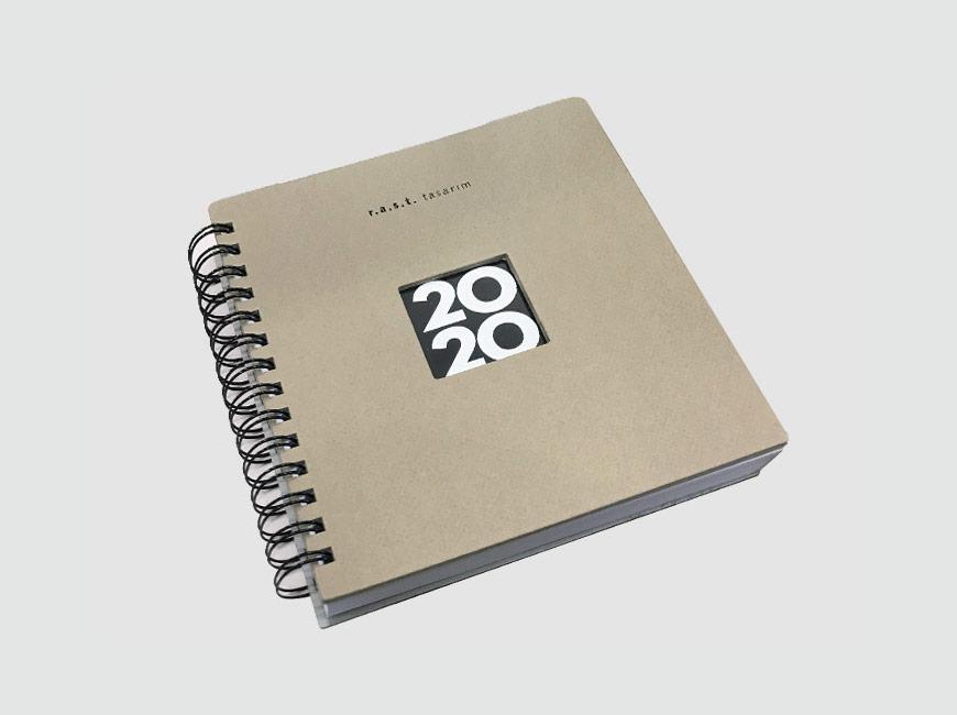 RAST Tasarım 2020 Ajanda Tasarımı