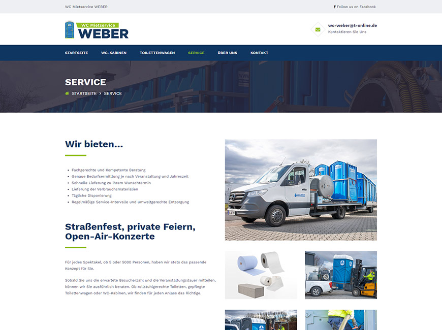 WEBER Web Site Tasarımı