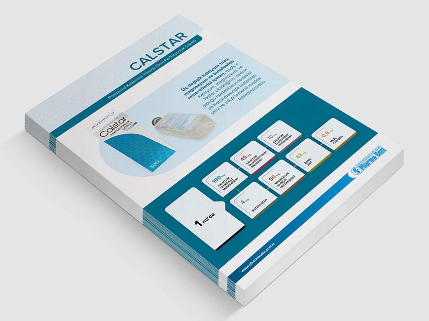 Pharma-Sem - Calstar Flyer Tasarımı