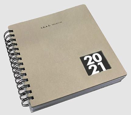 RAST Tasarım 2021 Ajanda Tasarımı