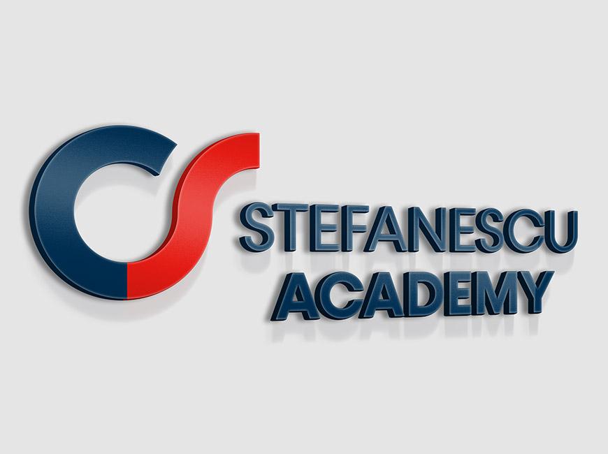 Stefanescu Academy Kurumsal Kimlik Tasarımı