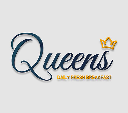 Queens Breakfast Logo Tasarımı