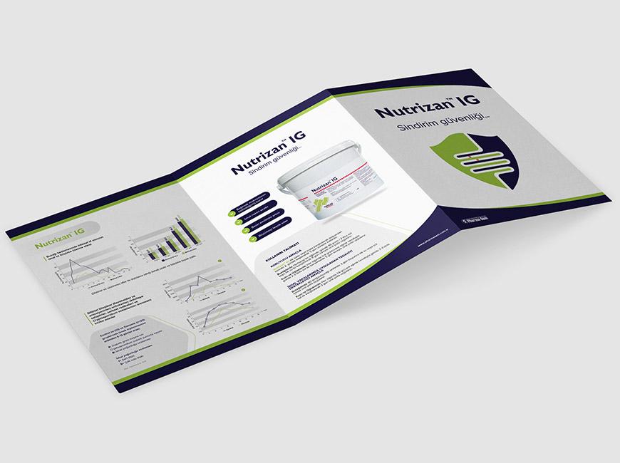 Pharma-Sem - Nutrizan IG Broşür Tasarımı