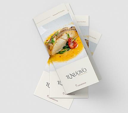 Il Nuovo Broşür Tasarımı