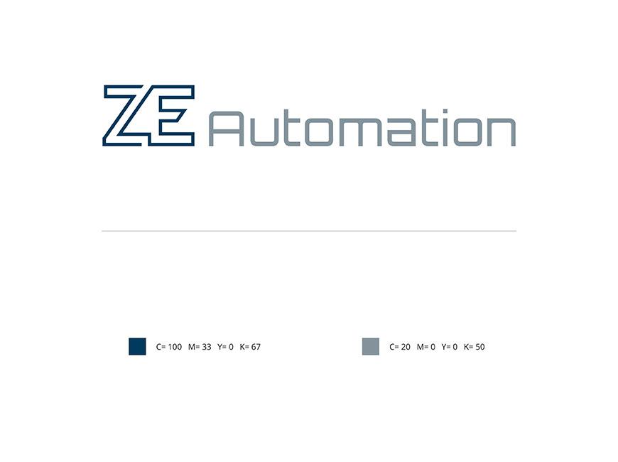 ZE Automation Logo Tasarımı