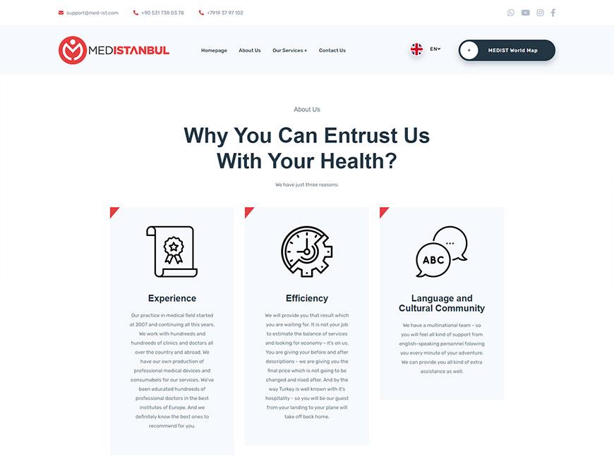 Med İstanbul Web Site Tasarımı