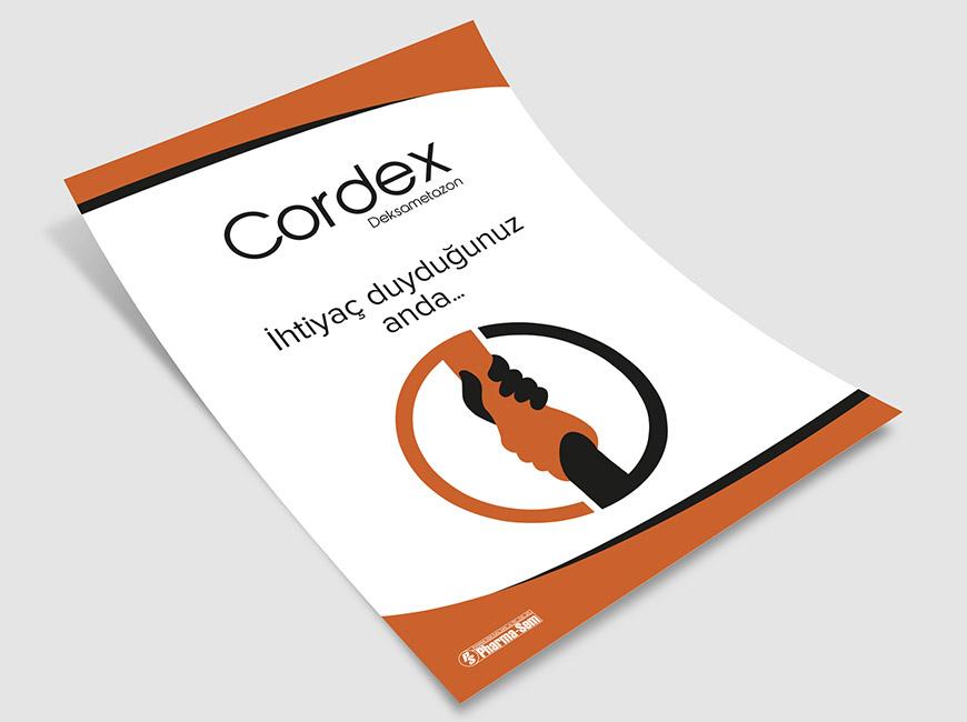 Pharma-Sem - Cordex Flyer Tasarımı